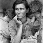 Dorothea Lange Mere migrante