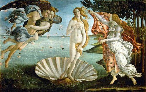 La Naissance de Vénus Botticelli