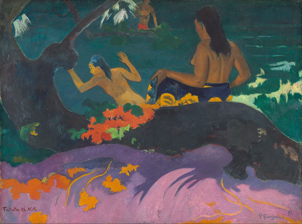 Fatata te miti Paul Gauguin