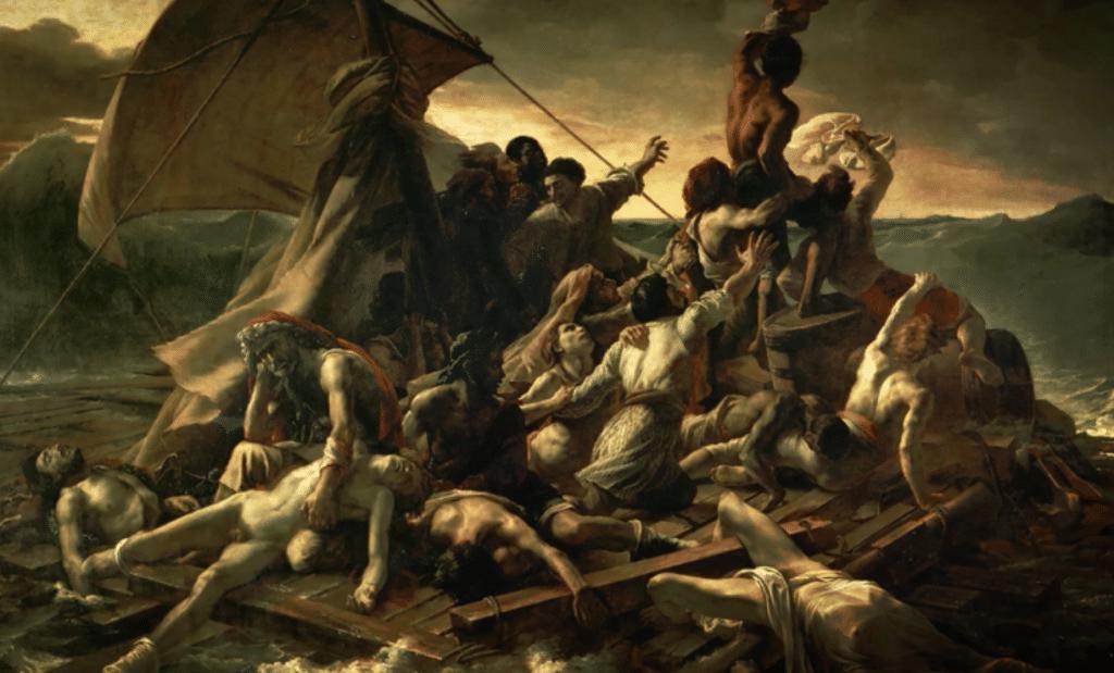 theodore-gericault-radeau de la méduse 1818-1819