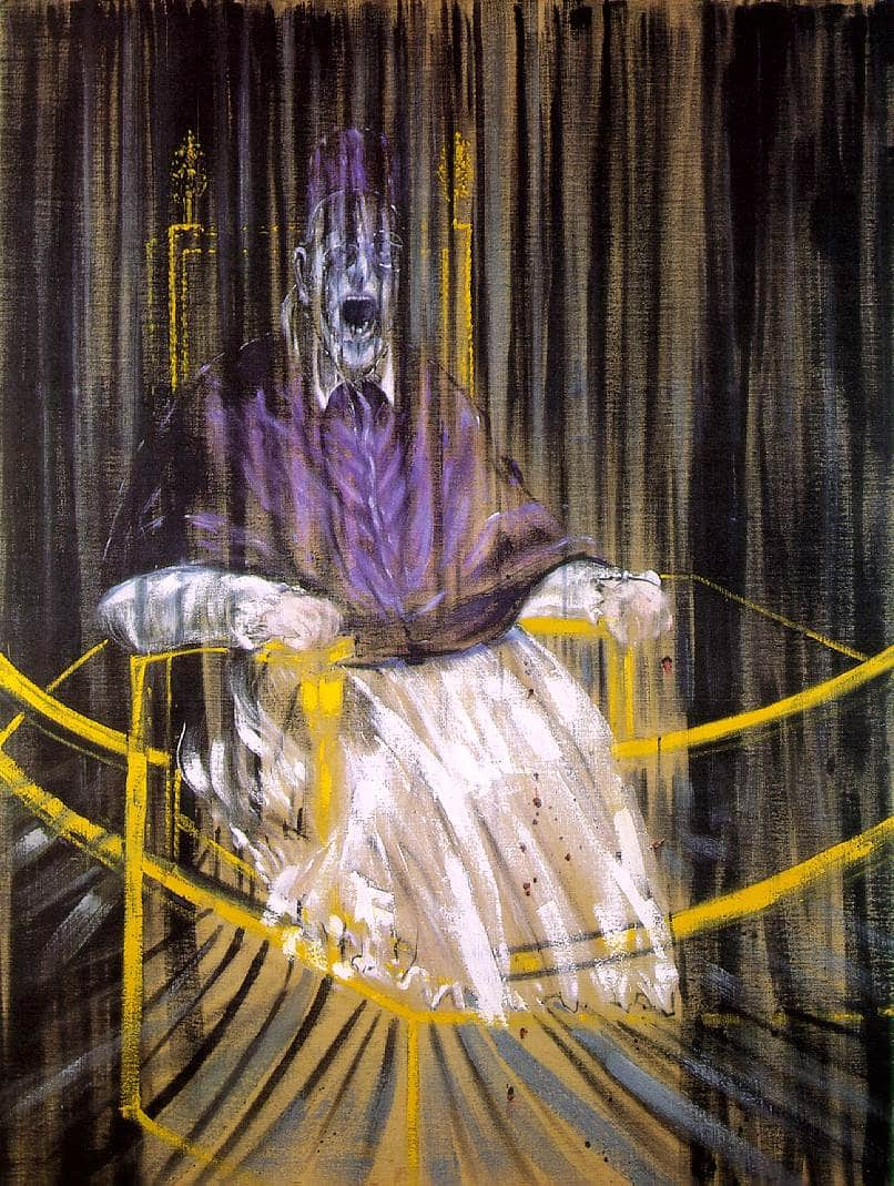 Pape Innocent X Velazquez Francis Bacon